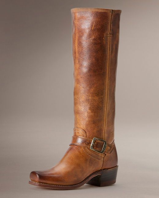 Frye Women's Cavalry Strap 15L Riding Boot - Cognac  http://www.countryoutfitter.com/products/32916-womens-calvary-strap-15l-boot-cognac