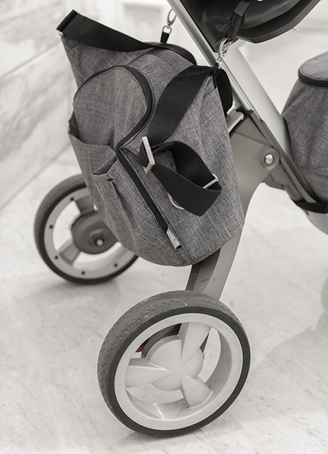 Stokke Changing Bag Conveniently Hooks Onto The Chassis Of All Connection Stroller Models Xplory