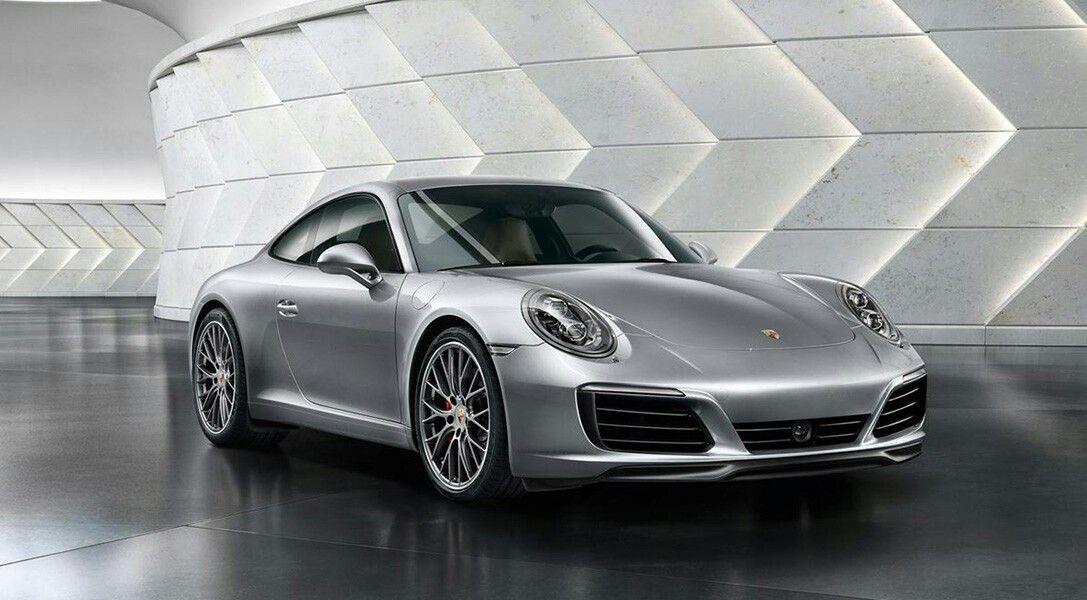 2017 Porsche Carrera Silver Car showroom design, Porsche 911