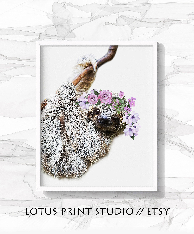 k is for koala nursery watercolour a4 gloss Print picture gift wall art unframed