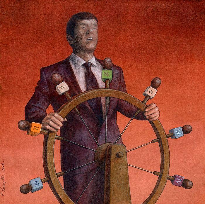 """""""Propaganda"""" by Pawel Kuczynski"""