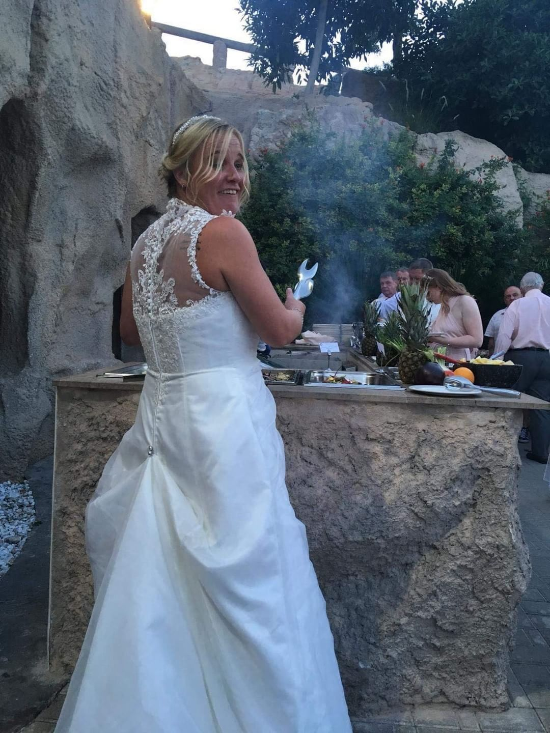 If You Would Like To Move Around Your Reception With Ease Then A Trainloop Could Wedding Dress Train Bustle Wedding Gowns Mermaid Mermaid Style Wedding Dress