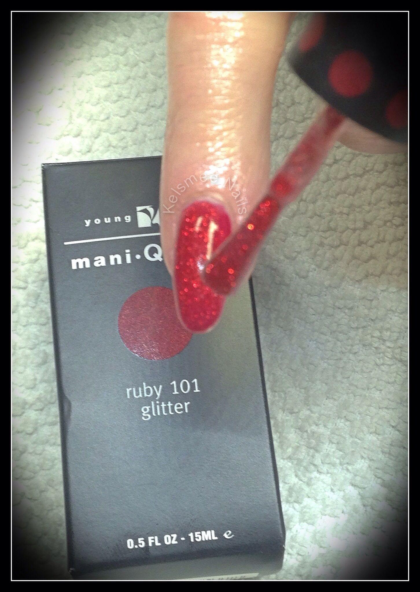 Young Nails ManiQ Ruby | Kelsmee Nails | Pinterest | Art nails