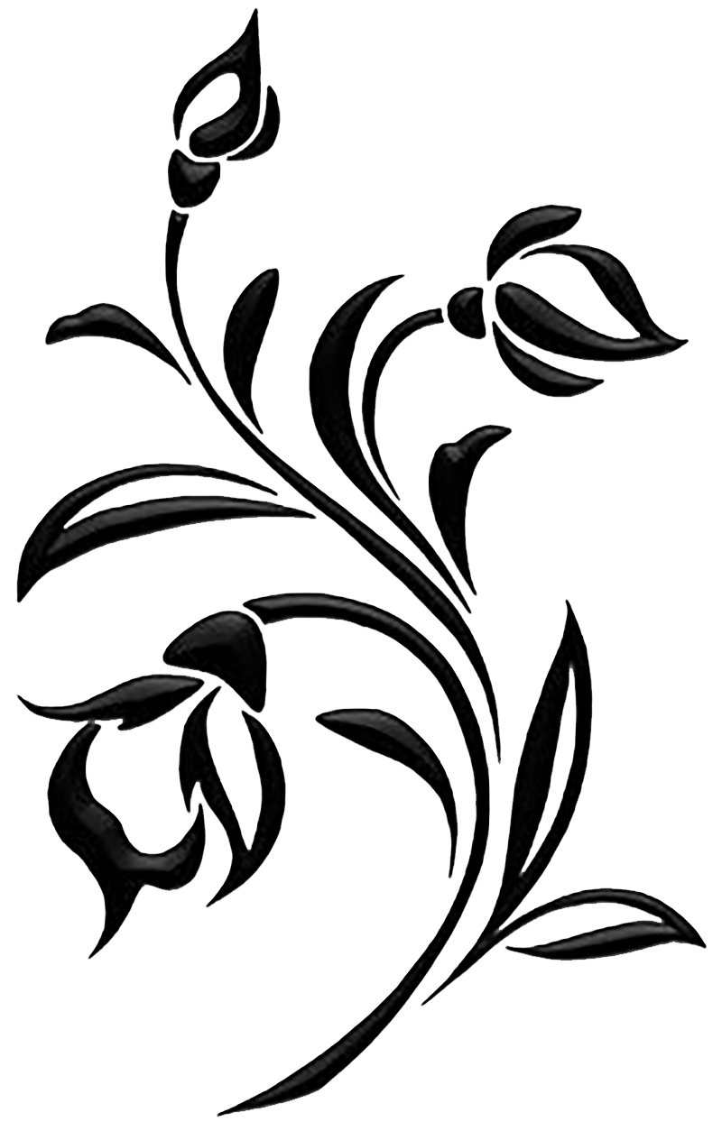 Pin By Jose Luis On Klipart Png Flower Silhouette Silhouette Art Flower Graphic