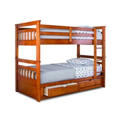 Springsdale Twin Over Twin Storage Bunk Bed Sears Sears Canada Bunk Beds With Storage Bunk Beds Bed
