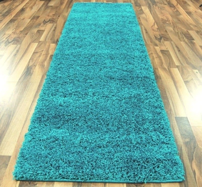 Turquoise Kitchen Rugs New Rug In The: Vitra Turquoise Hall Runner Rugs £ 44 00 Modern Rugs