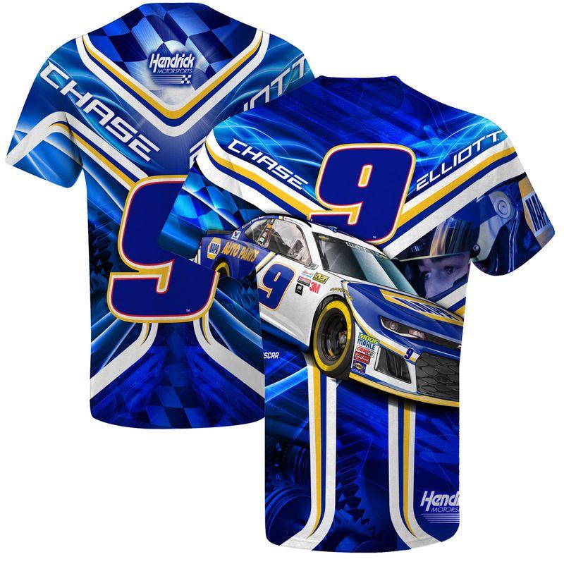 Chase Elliott T Shirt >> Chase Elliott Prism Sublimated T Shirt Products Chase Elliott T