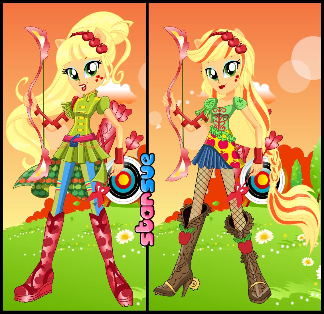 Friendship Games Fluttershy Archery Style by