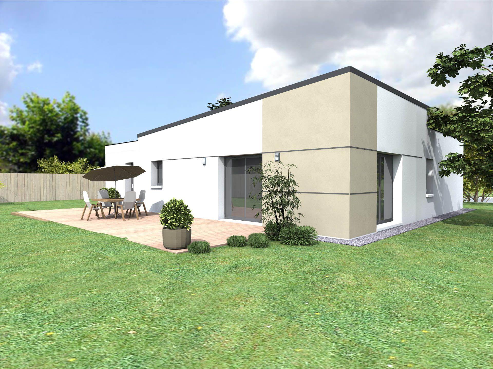 Plan de maison Elena 3 MIXTE personnalisable | Plan maison, Maison, Acheter maison