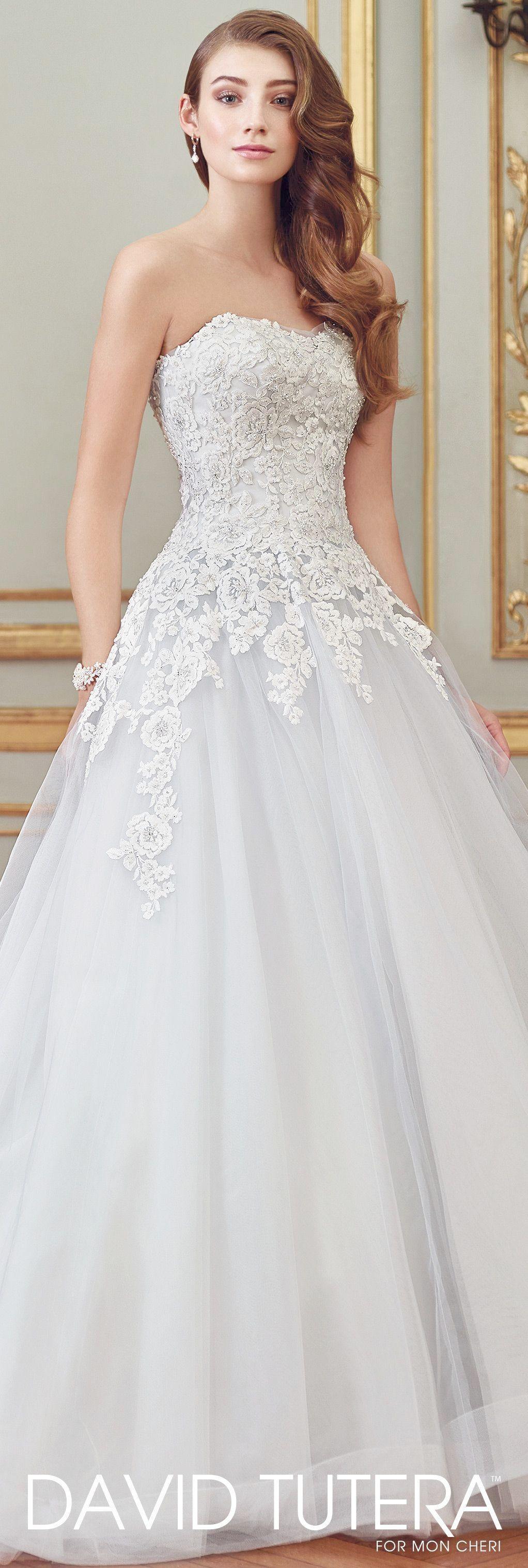 Mermaid wedding dress with detachable train  Lace Wedding Dress Detachable Train Tiered Lace Mermaid Wedding