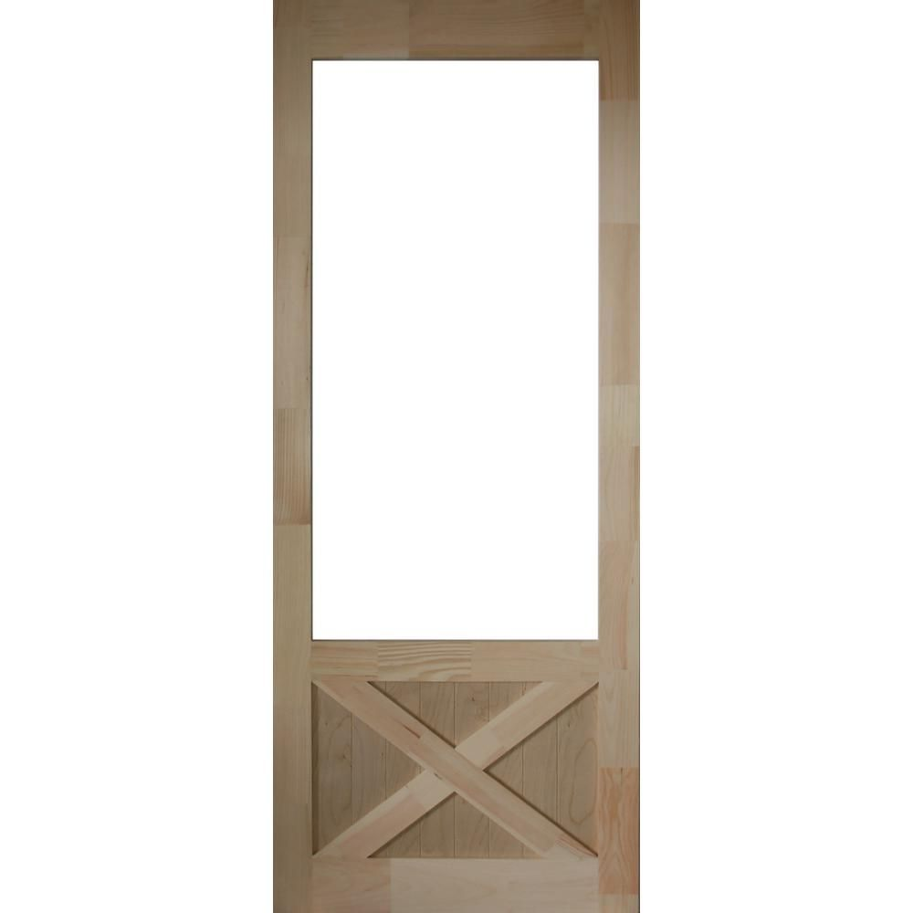32 X 78 Wood Screen Door