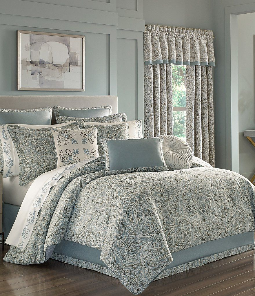 J queen new york giovani paisley comforter set