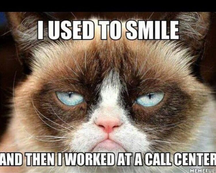 Not Funny Cat Meme : Joys of call center life not memes funny quotes
