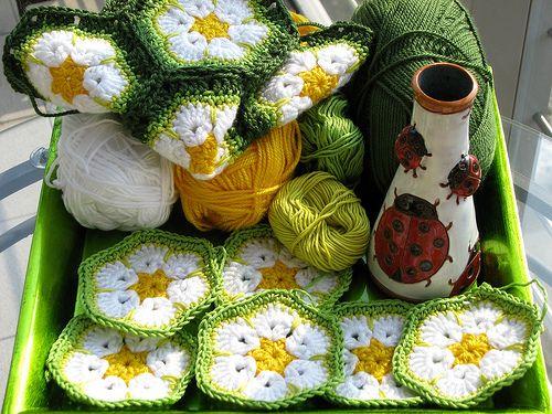 african hexagon | African Flower Crochet | Pinterest | afrikanische ...