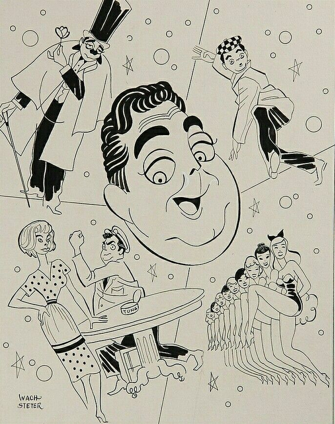 Rare Release of Original George Wachsteter Illustrations