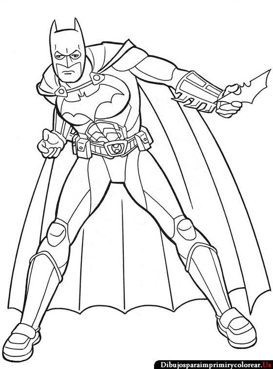 Dibujos De Batman Para Imprimir Y Colorear Batman Para Colorear Superheroes Para Colorear Batman Dibujo