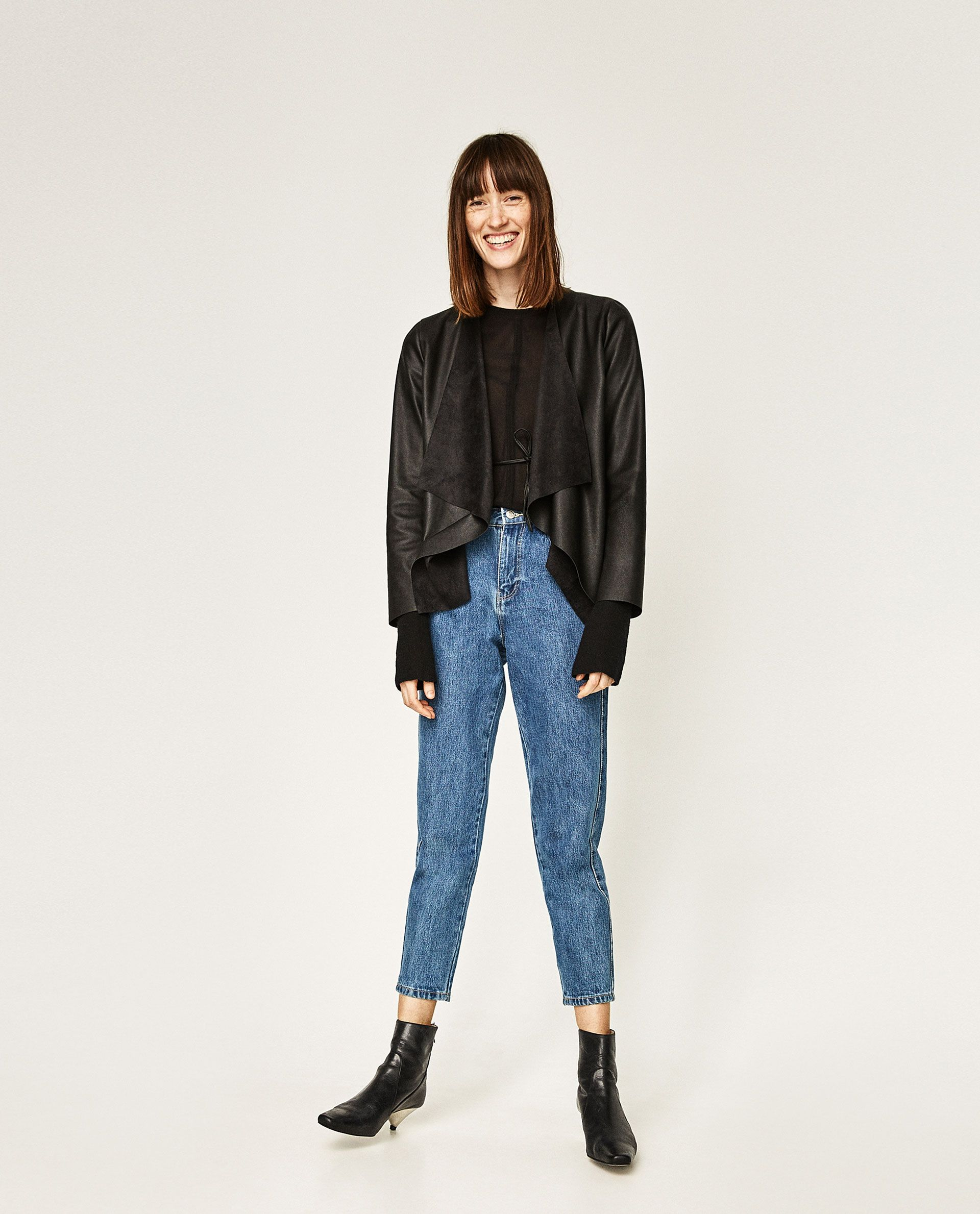 Image 1 of FAUX LEATHER JACKET from Zara Outerwear women