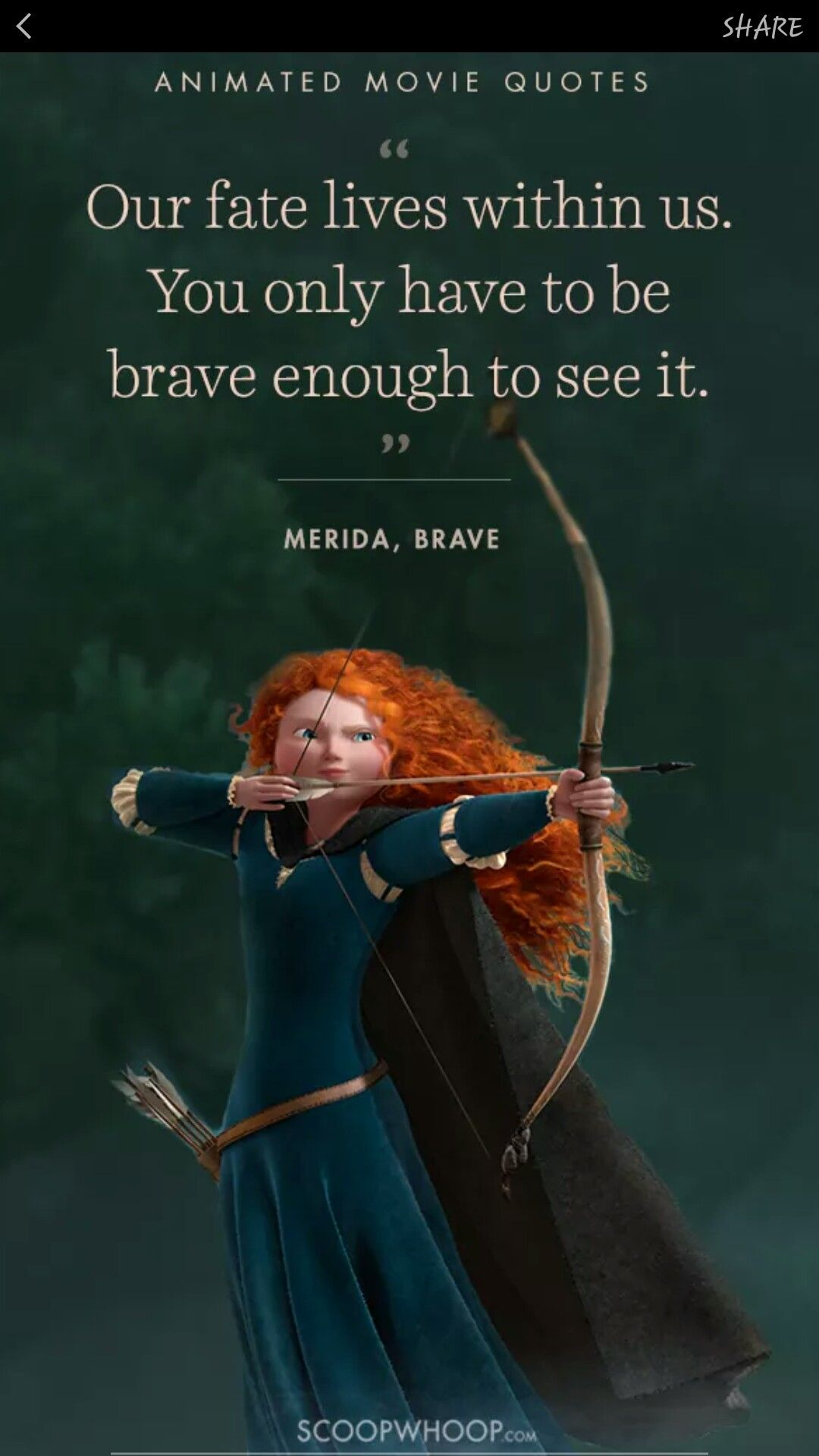 Pin By Stephanie Trusty On Life Changing Quotes Cute Disney Quotes Brave Movie Quotes Life Quotes Disney