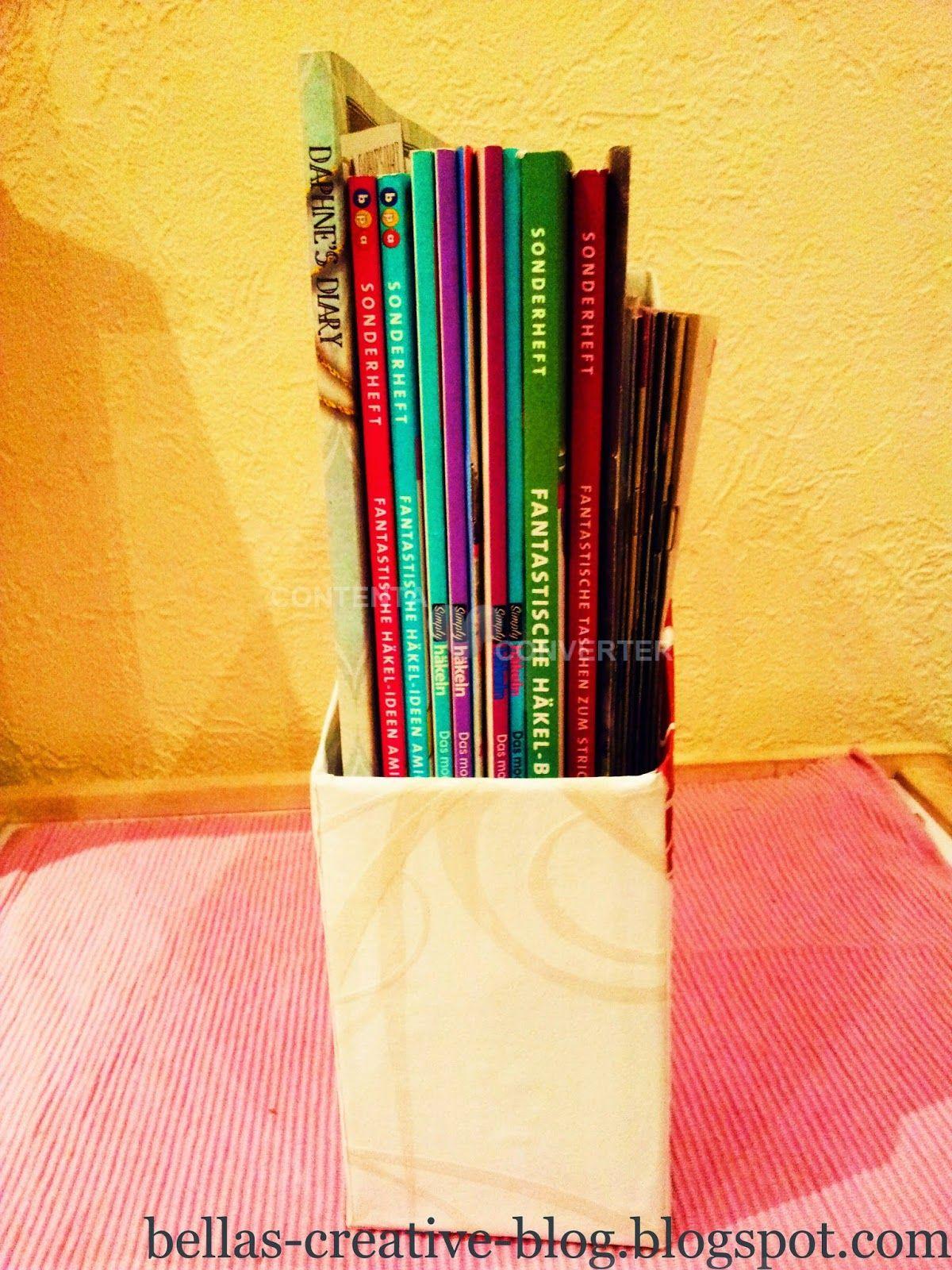 DIY Magazine holder - Bella´s Creative Blog