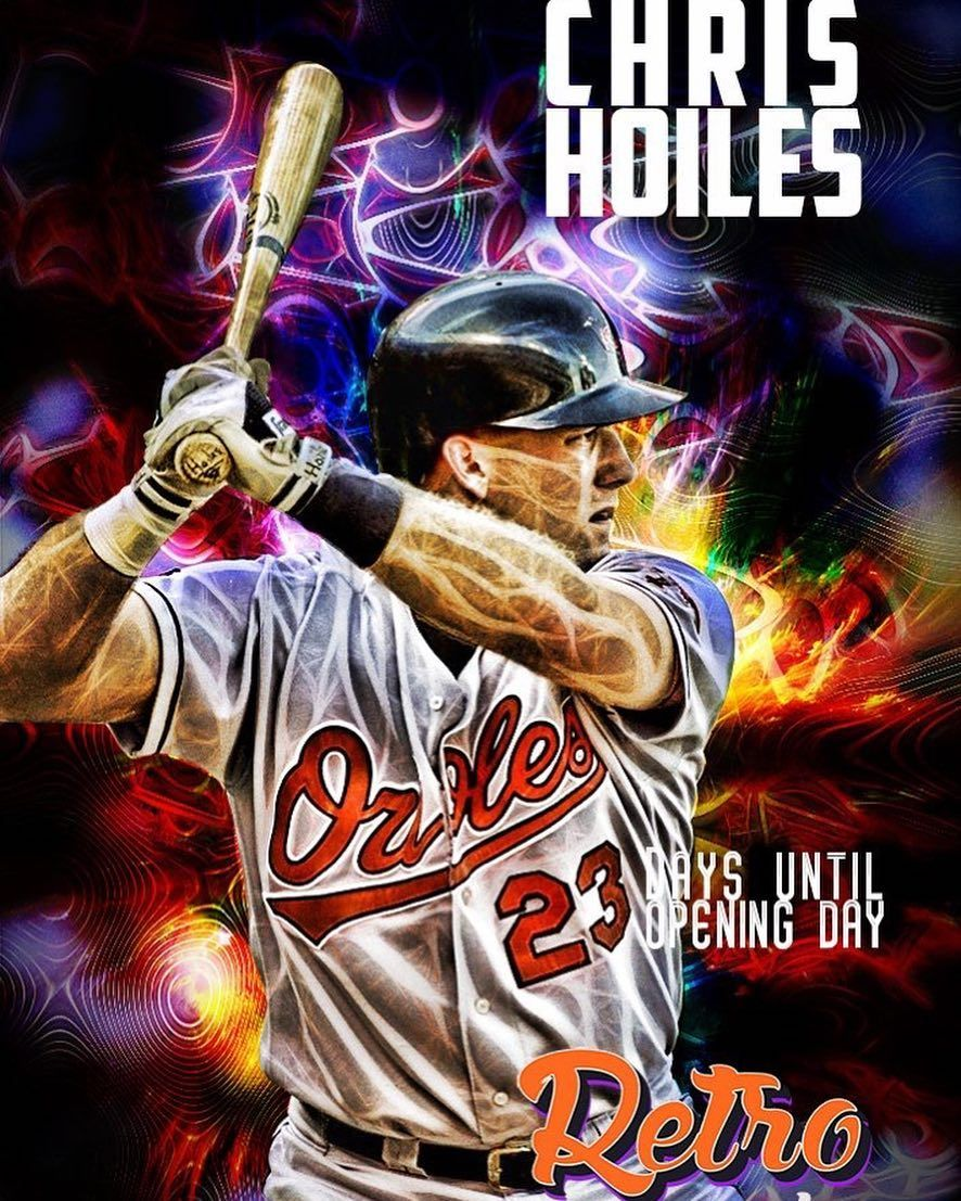 It S Chrishoiles Days Until Orioles Opening Day Ain T That Grand Catcher Rightie Wayne Ohio Orio Eastern Michigan University Orioles Eastern Michigan
