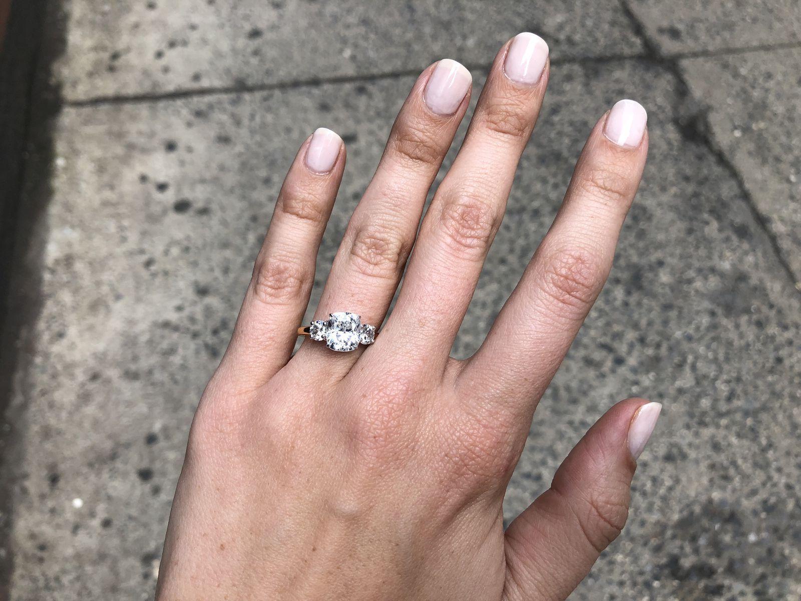 Smallest Engagement Ring Meme