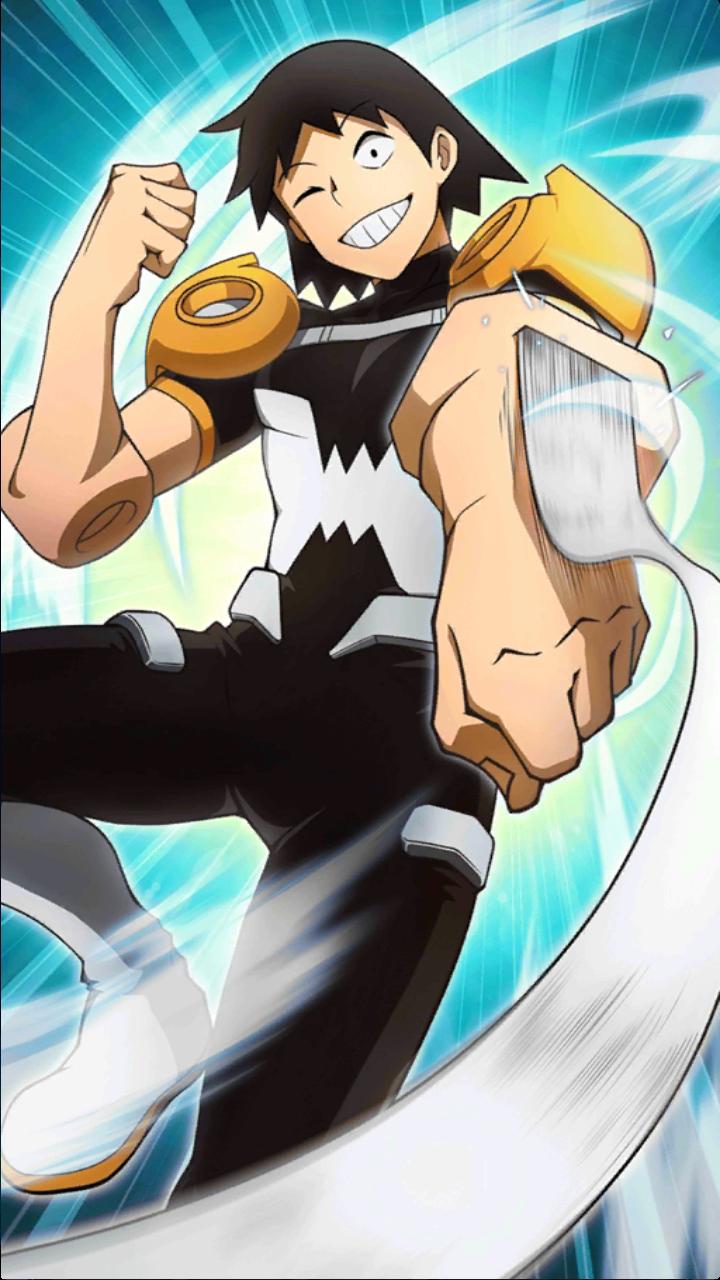 SmashTap Card Art Album My hero, Anime, Character art