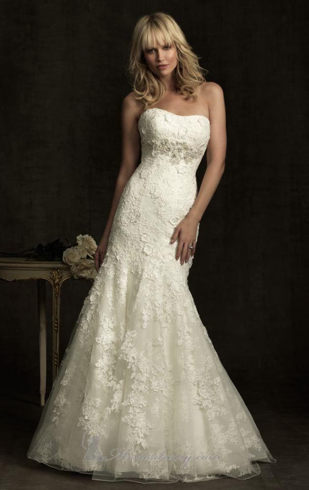 Allure 8913 | nifika | Pinterest | Vestidos de novia, De novia y Novios