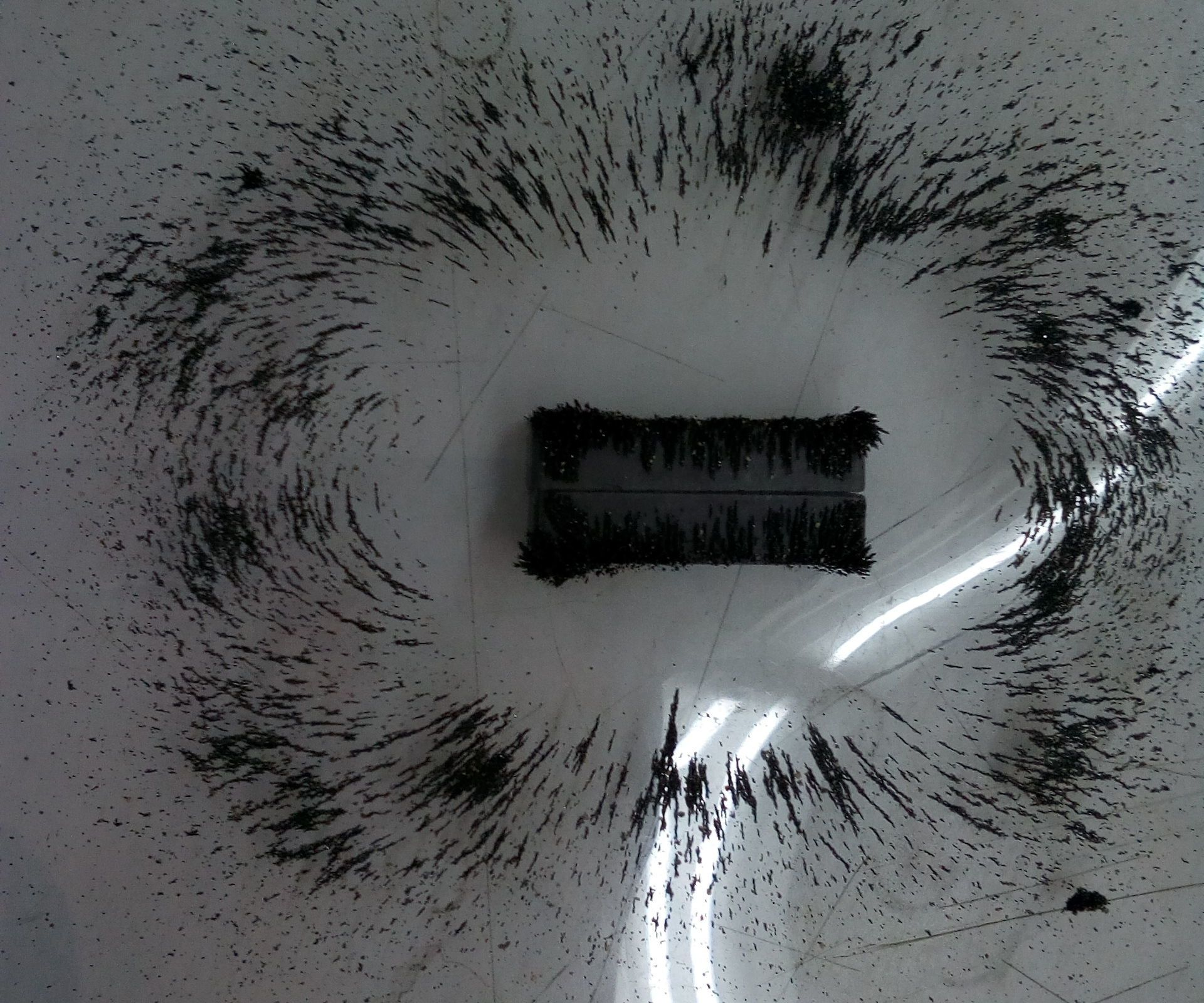 Simple Experiment To Visualize Magnetic Fields S