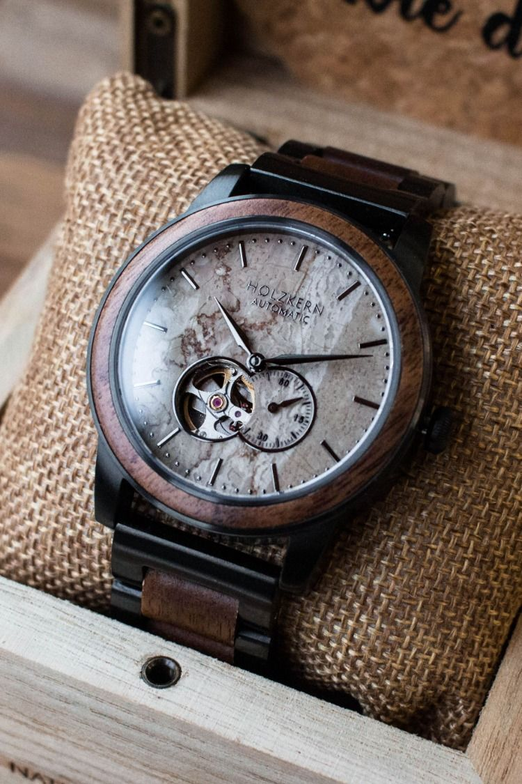 Chicago walnutmarble in 2020 wood watch marble