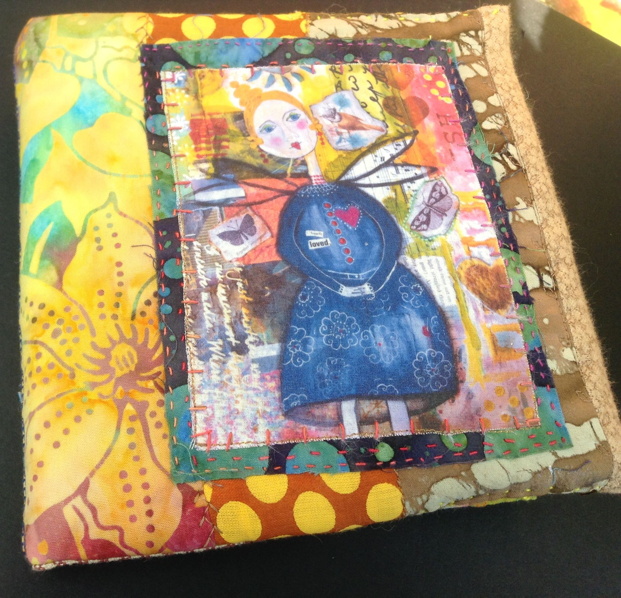 Artistbooks Ideas: Book Cover. The Naive Angel Is A Transfer Image Of One Of