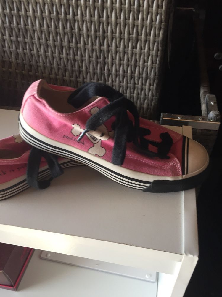 829eef322f0 Paul Frank Shoes Pink-Unisex Pro-Keds Ms 5 1 2 Ws 7  fashion ...