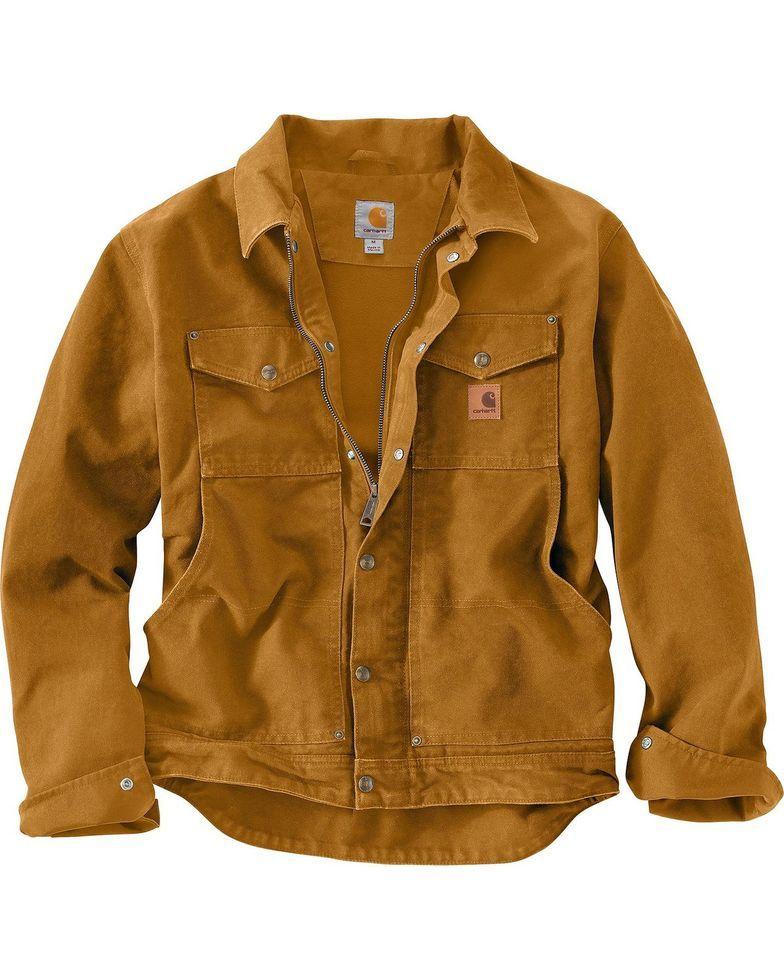 Carhartt Berwick Sandstone Work Jacket in 2019  9f6a47c8f915
