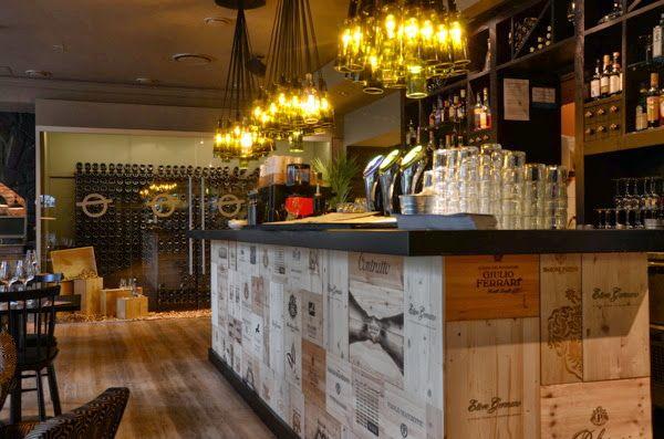 Recicla y reutiliza 5 barras originales ambasciata - Decorar un bar de tapas ...