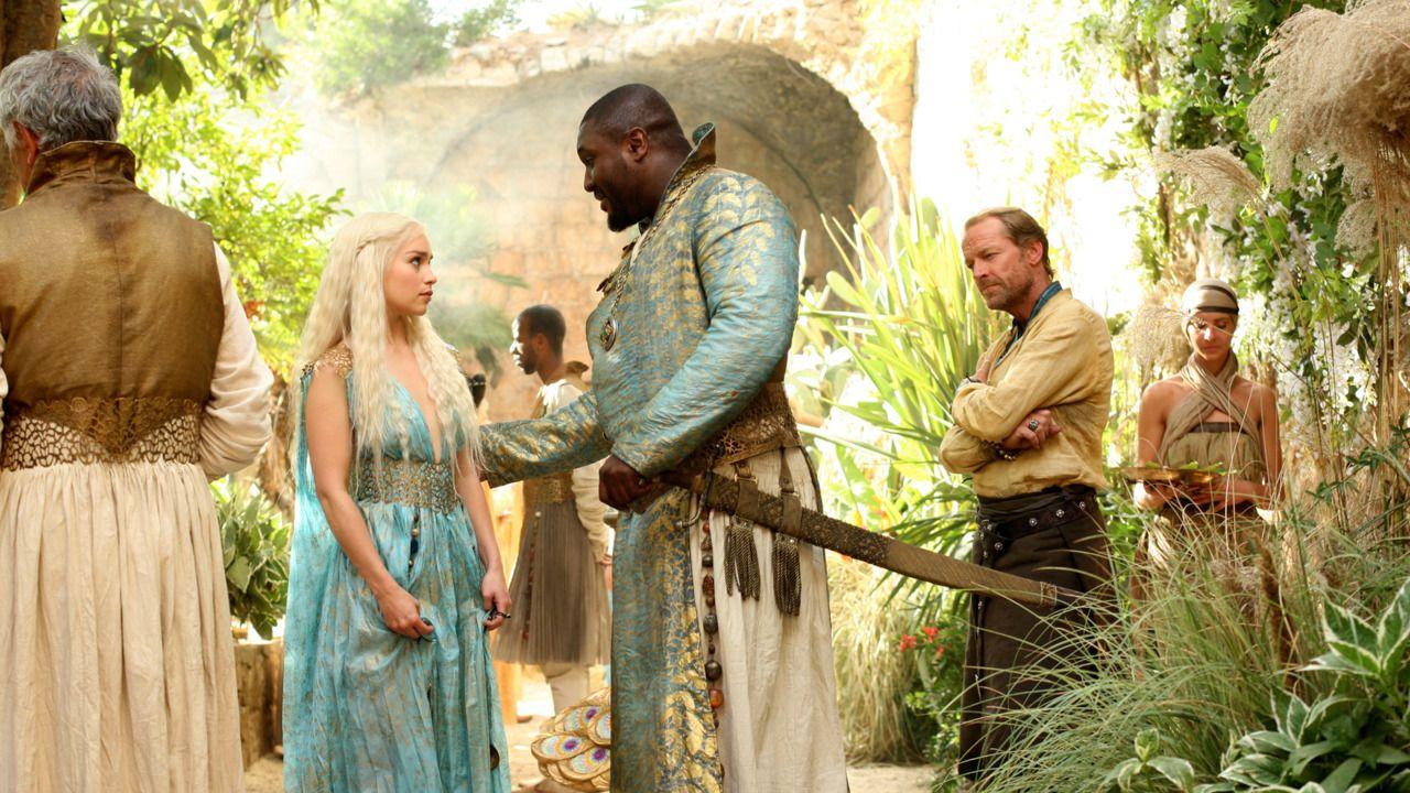 Daenerys targaryen and khal drogo wallpaper daenerys targaryen wedding - The Ghost Of Harrenhal Game Of Thrones Daenerys Targaryen Emilia Clarke