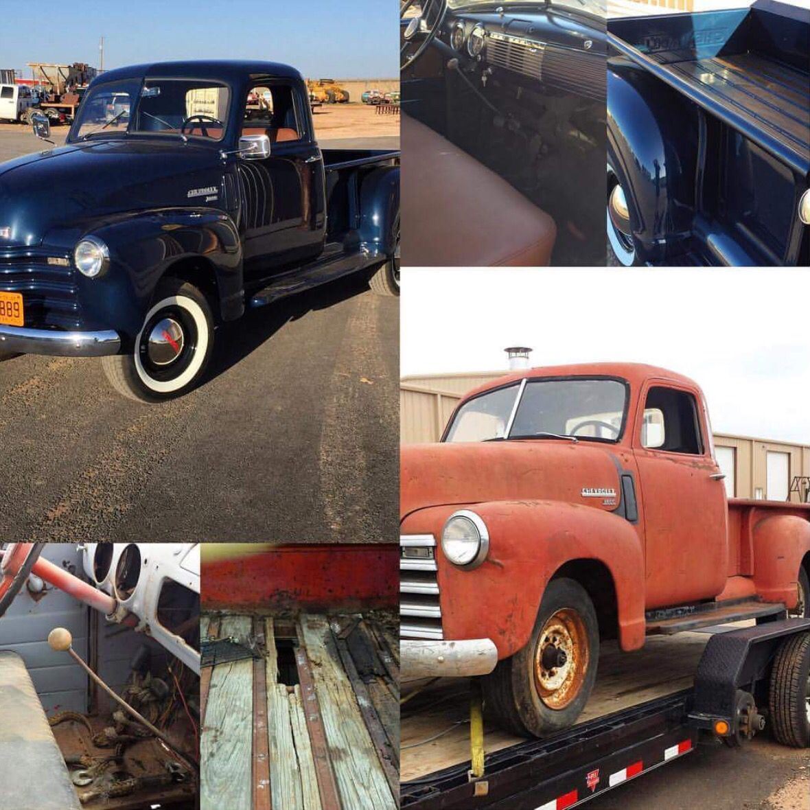 Before and after 49 chevy rev limit customs lubbock tx