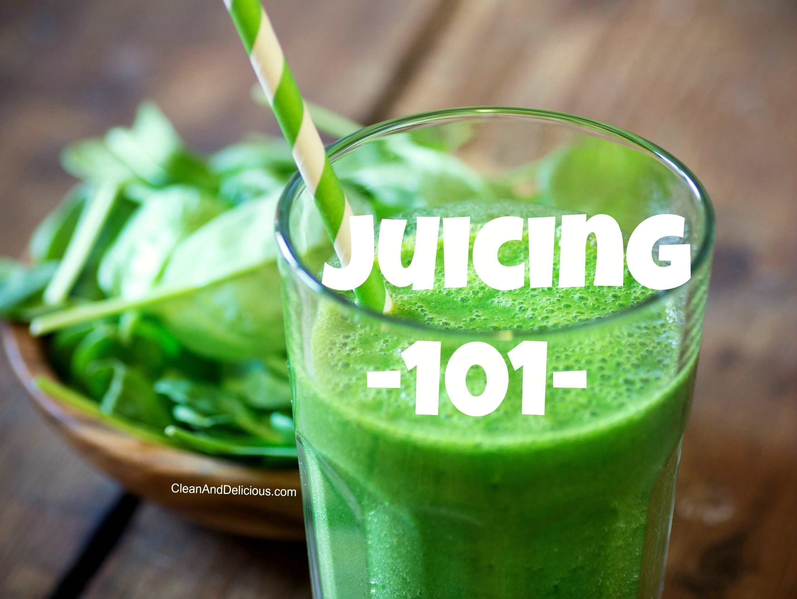 Juicing 101 - A Beginners Guide To Juicing + Juicers