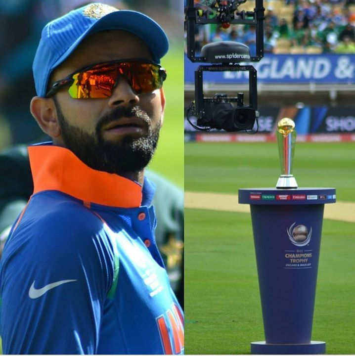 All Eyes Of Virat Kohli On ICC Champions Trophy 2017 For More Cricket Fun Click