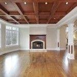 wood panel ceiling ideas