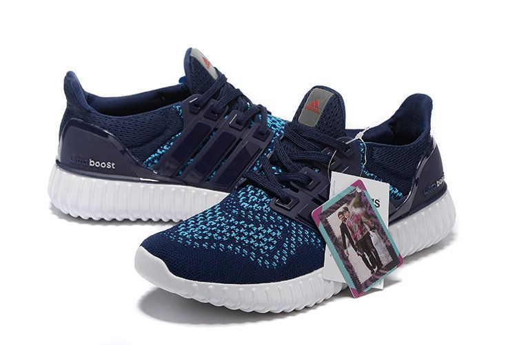 size 40 d5e5c d6a89 Adidas Yeezy Ultra Boost 2016-2017 Obsidian Blue Teal UK Trainers 2017 Running  Shoes 2017