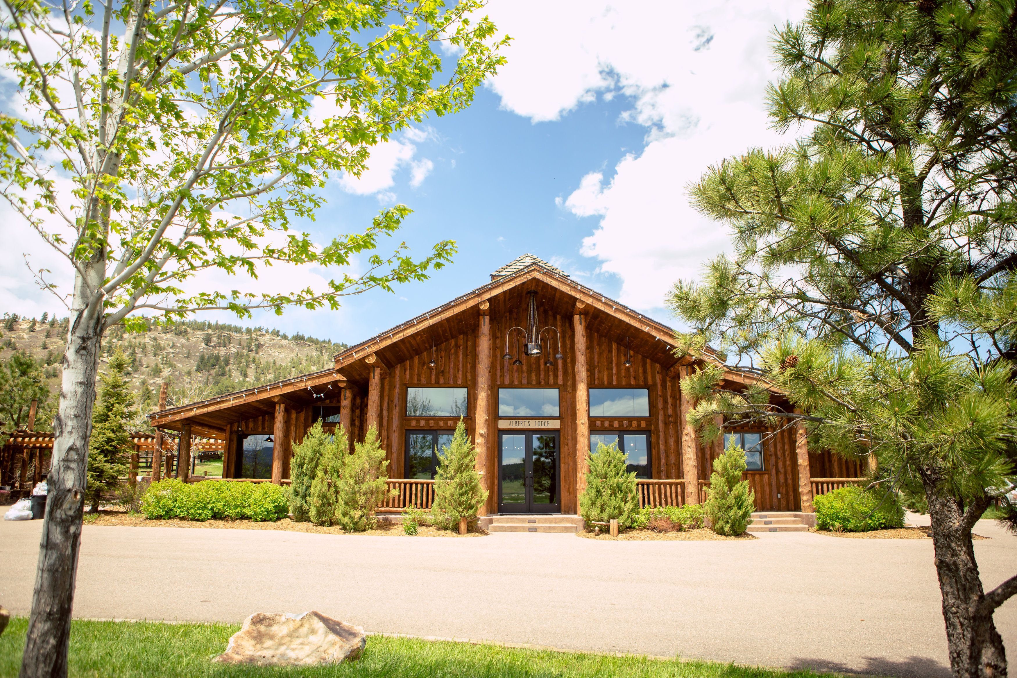 Albert S Lodge At Spruce Mountain Ranch Larkspur Co Colorado Weddings Photo Credit