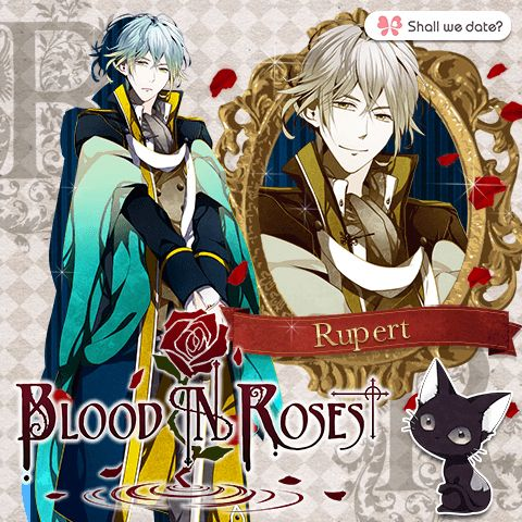 Rupert~ || Shall We Date ? Blood in Roses Vampire Kitty Cat Spade ♚
