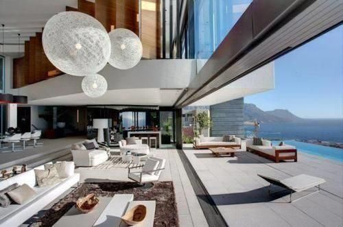 Perfect view living room