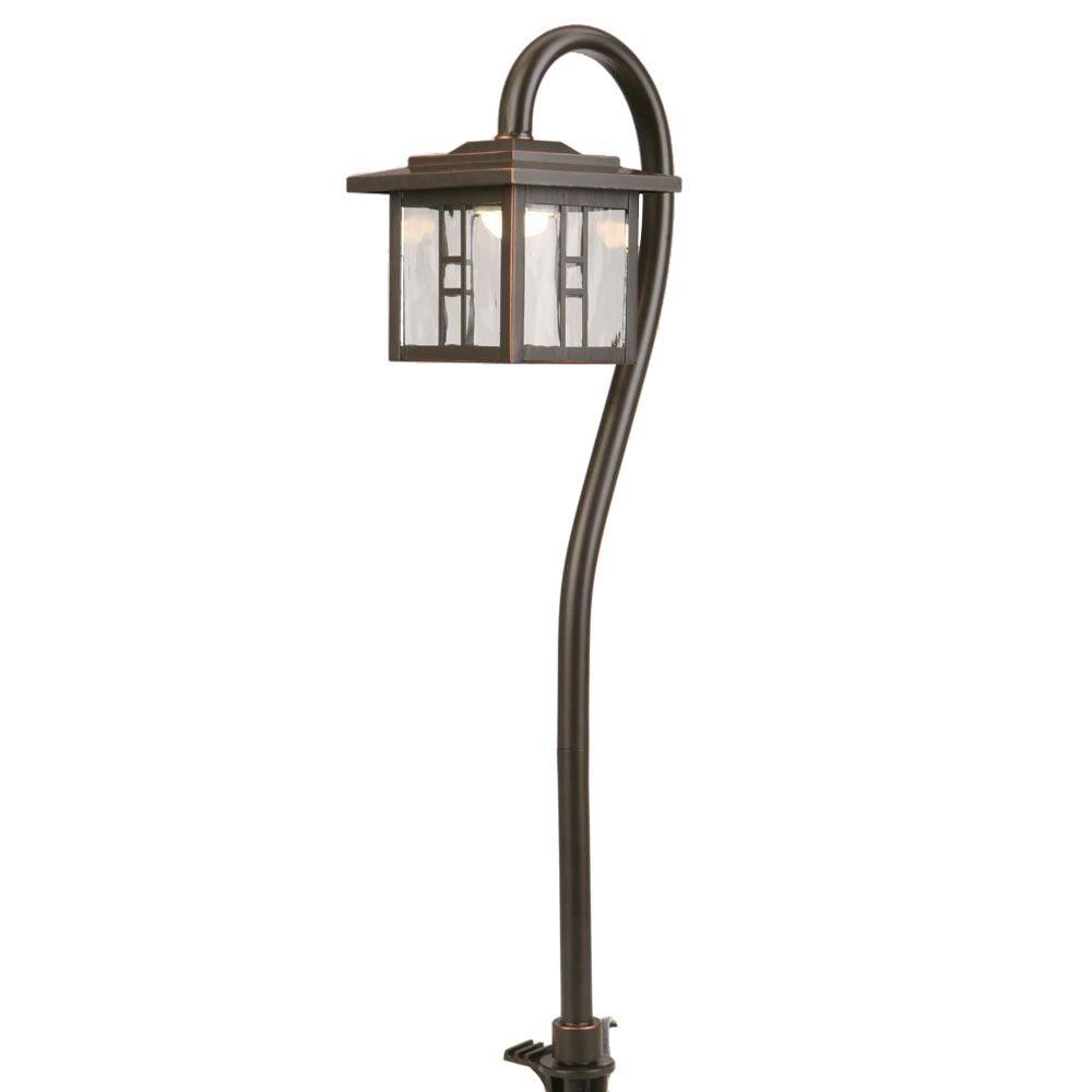 Hampton Bay Pathway Lights Cool Hampton Bay Lowvoltage 10Watt Equivalent Oilrubbed Bronze Outdoor 2018
