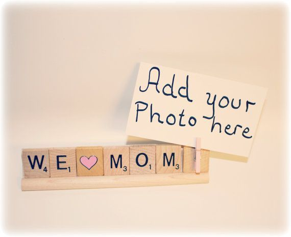 We Love Mom, Mom Photo, Mom Photo Holder, Mom Frame, Love Mom, Mom ...