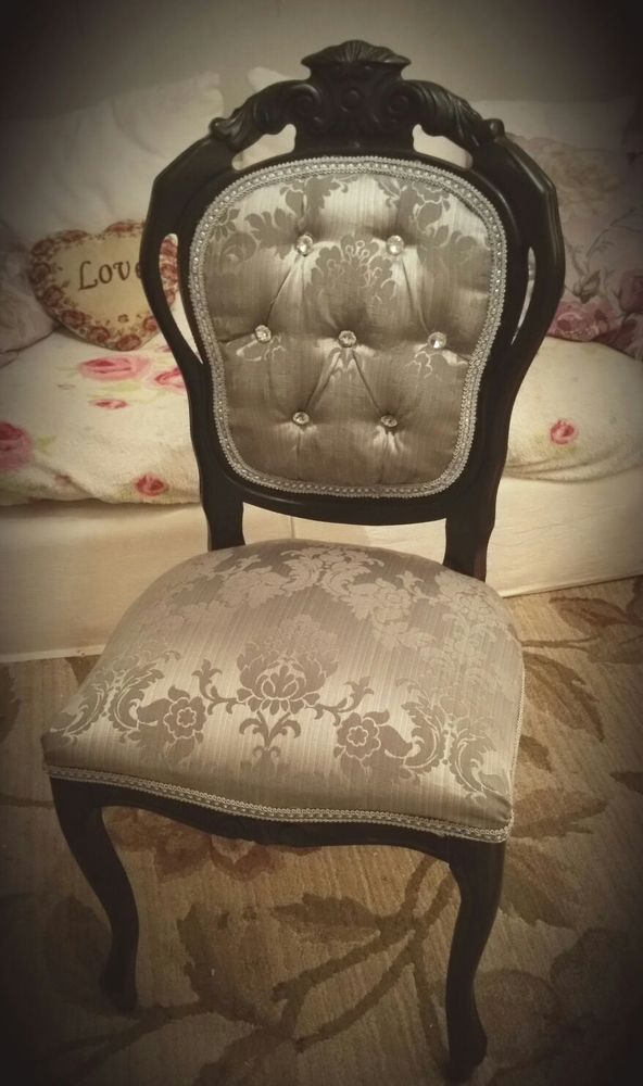 16 Stunning Statement Chairs: STUNNING Unique *STATEMENT CHAIR* Cream Rococo Louis