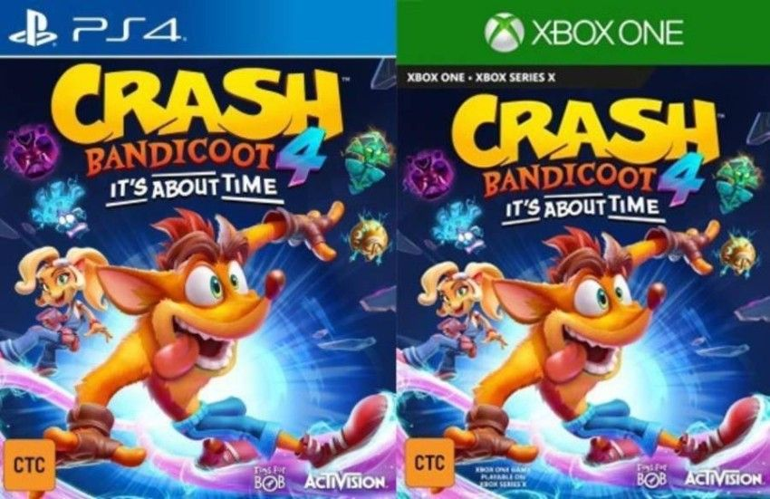 Crash Team Racing Ps4 Amazon Box Art Crashbandicoot 6