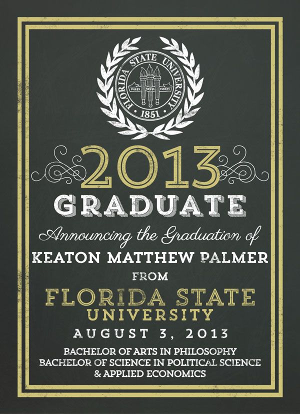 Navy and gold glitter graduation invitations in navy blue and gold ...