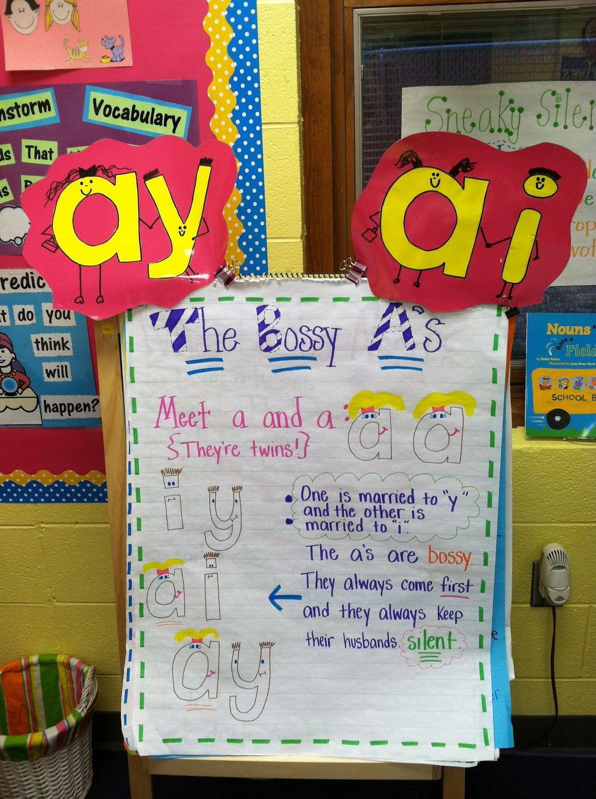 Long vowel a | English | Pinterest | Apartments, Anchor charts and ...