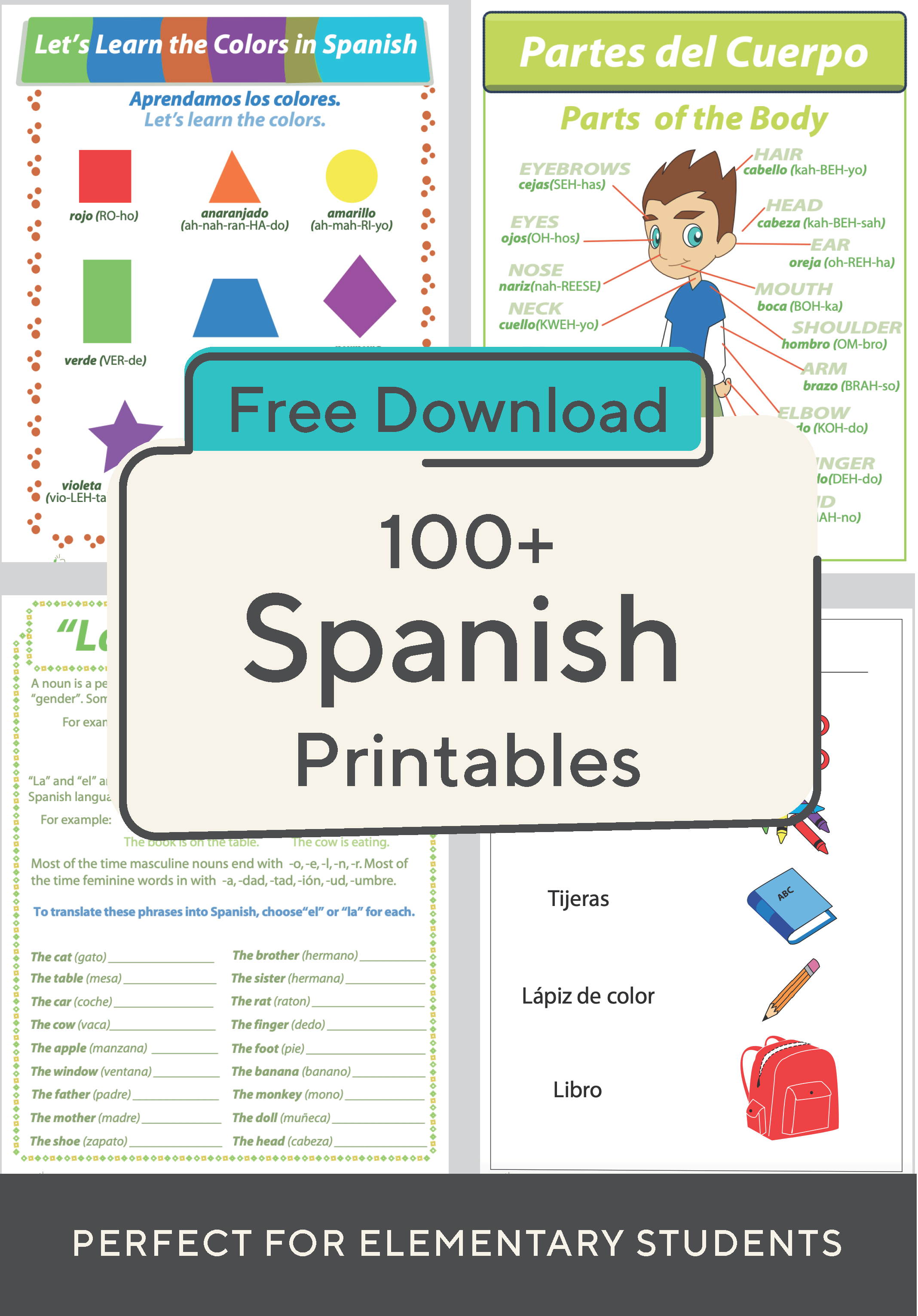 Help Your Child Learn Spanish With This Great Collection