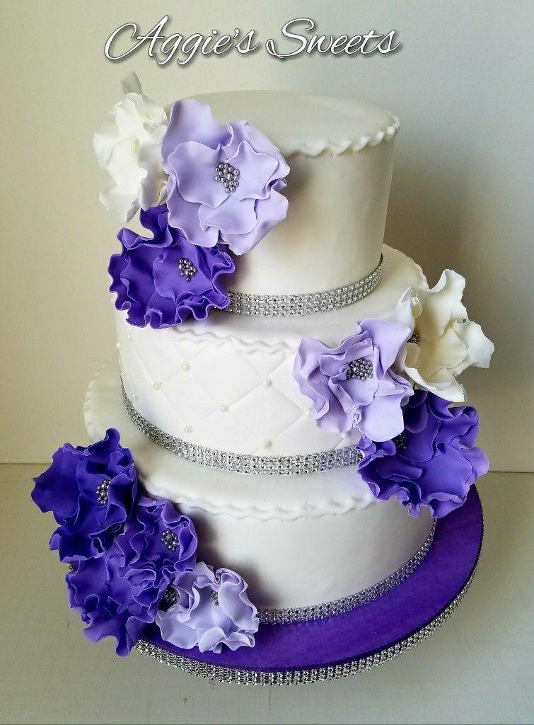 Unusual Publix Wedding Cakes Huge Hawaiian Wedding Cake Flat Purple Wedding Cakes Gay Wedding Cake Old Cupcake Wedding Cake YellowWedding Cake Photos Purple And White Wedding Cake | Aggie\u0027s Sweets | Pinterest | White ..